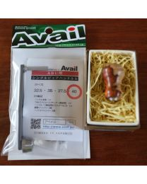 Supreme style finest wood knob Karin(花梨) AAA rank and Avail Single pure handle S40mm