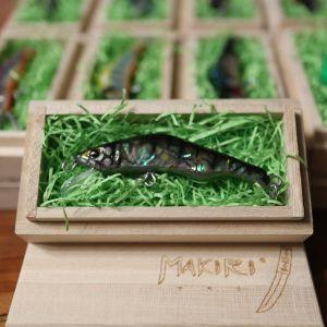 "HONNAMI SPIRIT Handmade Minnow  MAKIRI  ""Parch"" 6㎝・5ℊ・S"