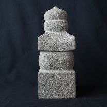 Isseki Gorinto(Five shaped towers made of one stone)
