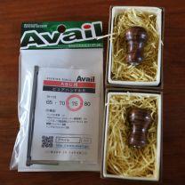 Supreme style finest wood knob  hawaiiancore AAA rank and Avail handle 75 mm